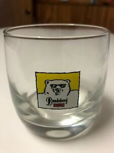 Old Bundaberg Rum Spirit Glass Vintage Bundy Mancave Barware Collectable