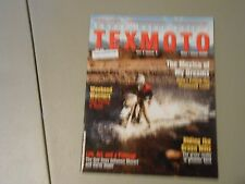 MAY/JUNE 2000 TEXMOTO MAGAZINE,TEXAS MOTORCYCLING,GREEN HILLS,APRILLA CUP,NIGHTS