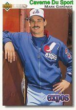 557 MARK GARDNER MONTREAL EXPOS BASEBALL CARD UPPER DECK 1992