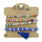Aloha Mode Bracelet Femmes Bracelet Bijouterie Bracelet Cuir Perles FESTIVAL