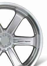 6x Car Alloy Wheel Sticker fits Renault Espace Sticker Decal Adhesive PT105