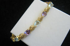 Natural Not Enhanced Amethyst Fine Bracelets