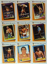 WWE 2016 HERITAGE Trading Card TURN BACK THE CLOCK Sub Set of 15