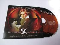 CD Série Spectaculars Classics - Beethoven (pochette cartonnée)