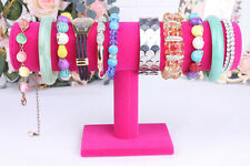 Velvet Jewelry Rack Bracelet Necklace Stand Organizer Holder Display 3 Colors US