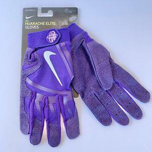 Nike Huarache Elite Batting Gloves Unisex PGB642 Purple sz XXL