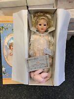 Puppe Porzellan Künstlerpuppe 65 cm. Ovp & Zertifikat. Top Zustand