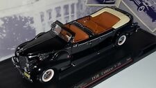 1/24 ROAD SIGNATURE PRESIDENTIAL SERIES 1938 CADILLAC V-16 CONVERTIBLE BLACK rd