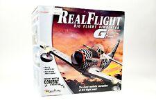 Realflight G5 RC Remote Control Airplane Helicopter Sailplane Flight Simulator