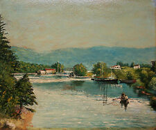 HEALE - Vintage Oil Painting on Panel - Unframed - Signed - Mid 20th Century