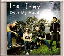THE FRAY Over My Head DUTCH PROMO ACETATE CD SINGLE