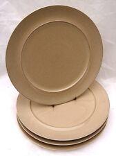 Denby 'Drama' Cream, Dessert Rimmed Plates - Set of 2