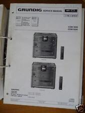 Service-Manual für Grundig CDM 3000/5000 HiFi, ORIGINAL