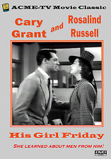 His Girl Friday - Cary Grant and Rosalind Russell NTSC All Regions