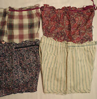 AMBRIELLE Sleepwear Shorts NWT Cotton Size S M L or XL Sleep Pajama