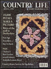 Country Life Jun 1998 WADDESDON MANOR WELL DRESSING NEW AGE TRAVELLERS