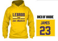 LEBRON JAMES 23 - KIDS YOUTH BOY SWEATSHIRT HOODIE LOS ANGELES LA (2), SZ M-XL