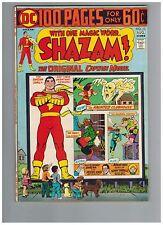 SHAZAM! 13   100 Page Giant with Captain Marvel Family!  1974 VF