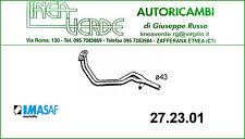 TUBO GAS DI DE ESCAPE DELANTERO IMASAF PARA 5940593 FIAT 127 1050 5M - FIORINO