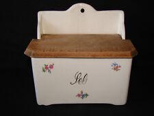 Ancienne boite à sel faience de St Amand - Ceramique