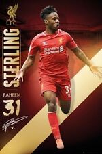 SOCCER POSTER Raheem Sterling Liverpool 2014-2015