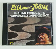 Ella Abraca Jobim [Original CD] by Ella Fitzgerald (CD, Nov-1991, Pablo)