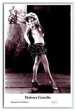 Dolores Costello c Swiftsure Postcard year 2000 modern print P71/3 glamour photo
