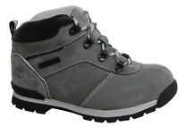 Timberland Euro Hiker Youth Lace Up Grey Nubuck Leather Boots A19K6 D45