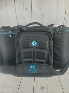 Pre-Owned Six Pack Fitness Travel Fit Innovator Meal Prep Bag Blue Black w/Ice P