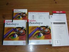 Adobe Photoshop 5.5 Mac tedesco versione completa dell'IVA Retail editing fotografico