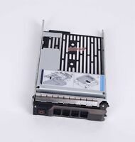"""For Dell SAS HYBRID CARRIER R710 R720 R510 T610 F238F + 3.5"""" tray 2.5"""" adapter"""