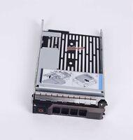 """Dell SAS HYBRID CARRIER R710 R720 R510 T610 3.5"""" tray 2.5"""" adapter 9W8C4 F238F"""