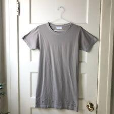 d6837d311d0fd4 John Elliot Men s Gray Taupe Distressed Cotton Tee Shirt Size - 0