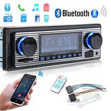 Retro Autoradio Bluetooth Freisprech-einrichtung USB SD AUX MP3 1DIN Oldtimer DE