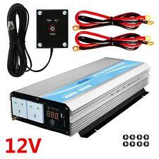 More details for giandel 3000w power inverter 12v to 240v car converter with led display 2.4a usb