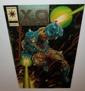 VALIANT COMICS RARE VARIANT X-O MANOWAR # 0 IVORY VARIANT