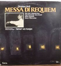 2-record set Giuseppe Verdi Messa Di Requiem Herbert von Karajan   122616LLE