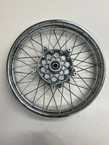 BMW R1200C re-chromed spoked front and rear wheel set 36317683244 36317683248