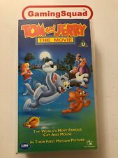 Tom and Jerry The Movie VHS Video Retro, Supplied by Gaming Squad