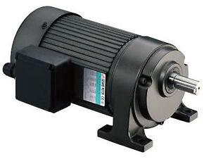 Sesame G11H-200U-5 PRECISION GEAR MOTOR 200W/3PH/230V/460V/4P/Ratio 1:5