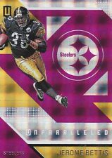 2016 PANINI UNPARALLELED FOOTBALL JEROME BETTISS RED WINDOWS PITTSBURGH STEELERS