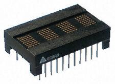New Osram 4 Character 5x7 Red Dot Matrix Addressable Intelligent Display Arduino