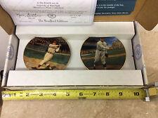 Bradford Editions Legends Baseball Set 4 Mini Plate Jimmie Foxx Walter Johnson