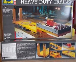 2 Stk. Heavy Duty Trailer / Revell 1:25