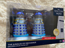 Doctor Who The Jungles of Mechanus ( The Chase) Two  Dalek Figure Set