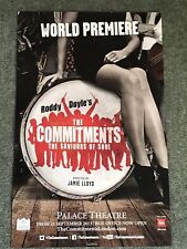THE COMMITMENTS Original Theatre Poster Palace Theatre