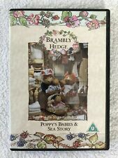 Brambly Hedge: Poppy's Babies & Sea Story - DVD - PAL - Jill Barklem - VGC
