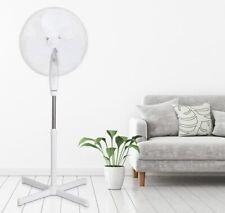 45W Ventilateur sur Pied Silencieux Réglable Oscillant Inclinable Hauteur 125 cm