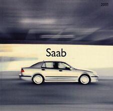 SAAB 9-3 93 Coupe Cabrio Cabriolet Aero 9-5 95 Prospekt Brochure 2001 75