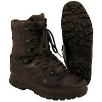 Genuine British Army Mens Haix Cold Wet Weather Combat Boots Brown